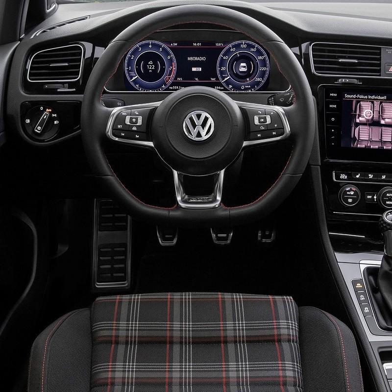 Pédales Alu VW Golf 7 (5G) à boîte manuelle