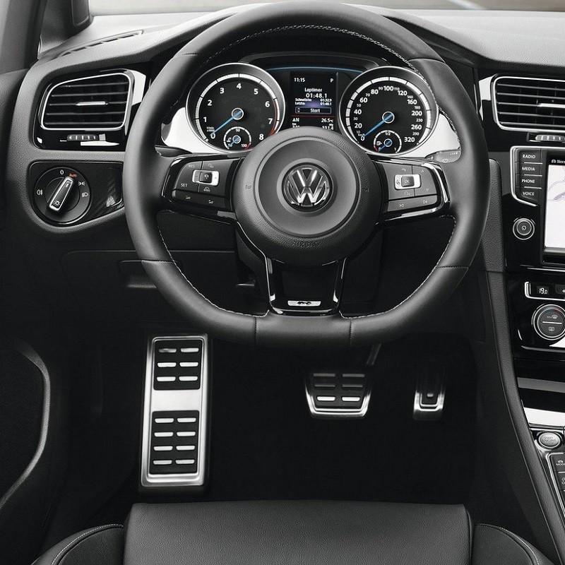 Pédales Sport VW Golf 7 (5G) à boîte automatique DSG6 ou DSG7