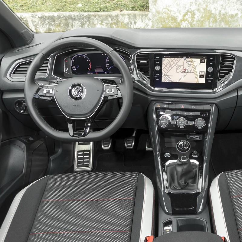 Pédales Sport VW T-Roc à boîte manuelle 6 rapports