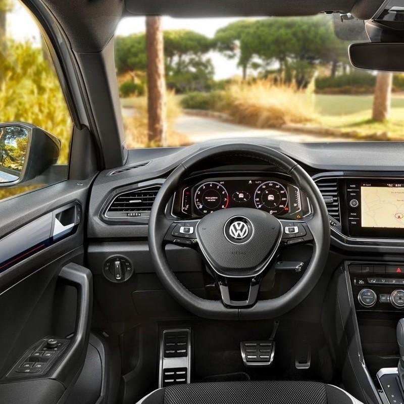 Pédales Sport VW T-Roc à boîte automatique
