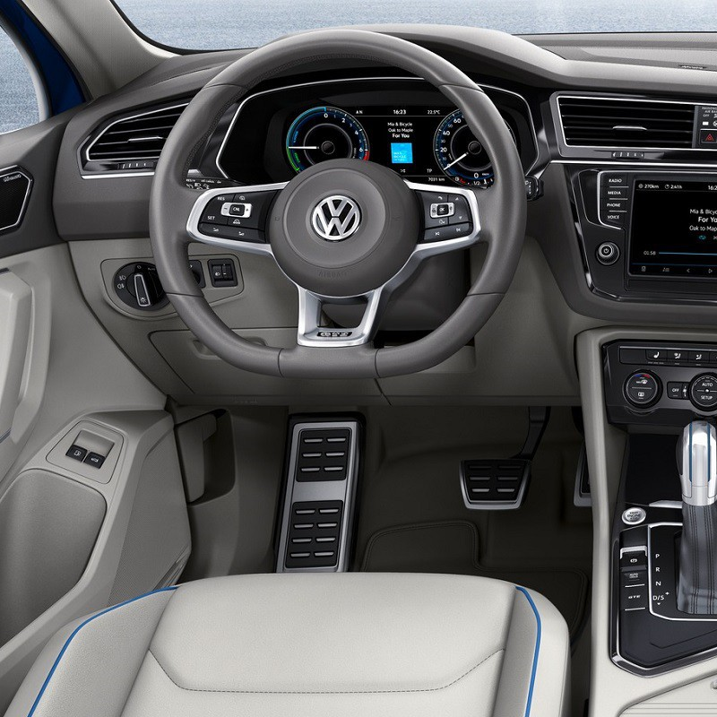 Pédales Sport VW Tiguan 2 (5P) à boîte automatique DSG