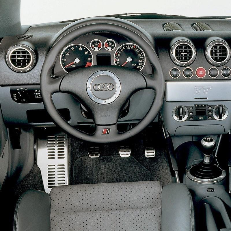 Pédales Sport Audi TT Coupé (8N) à boîte manuelle