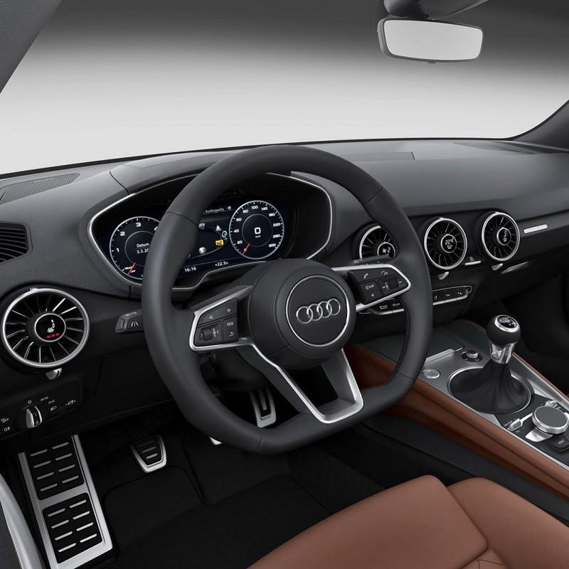 Pédales Sport Audi TT Roadster (8S) à boîte manuelle