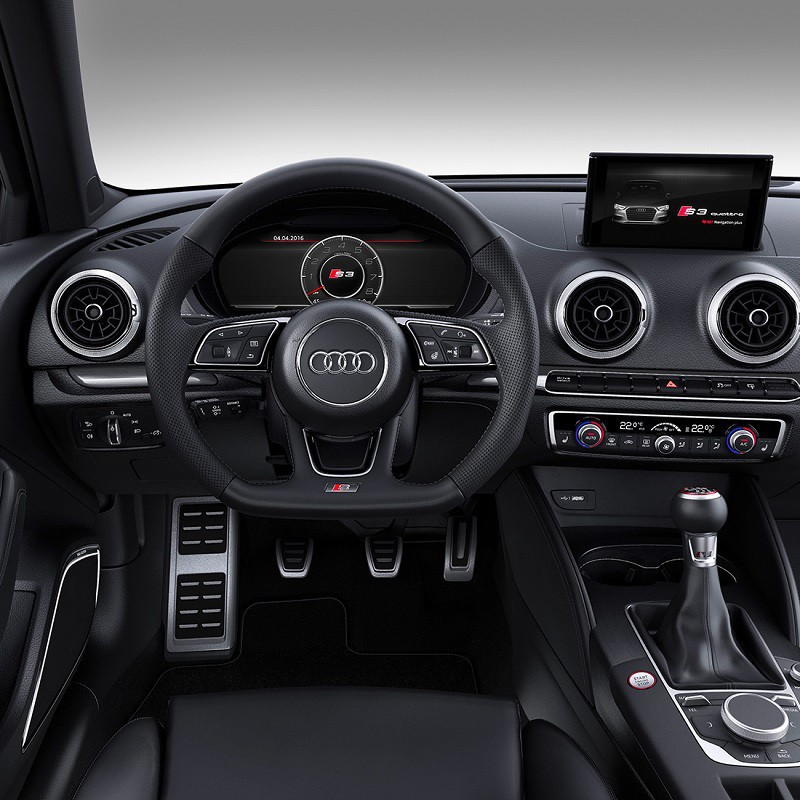 Pédales Sport Audi A3 (8V) manuelle