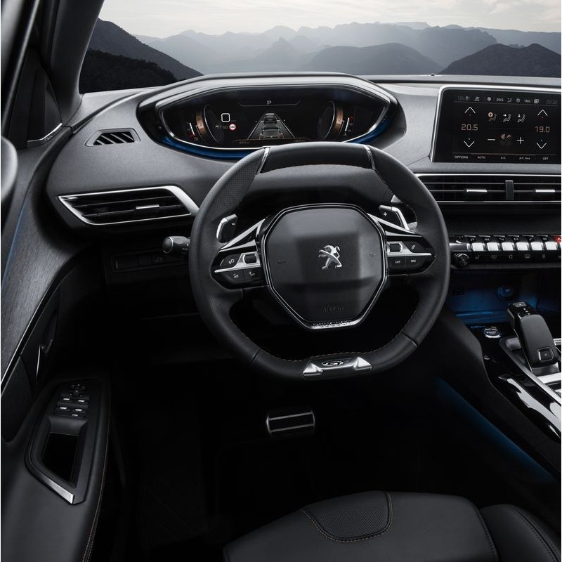 Pédales Sport Peugeot 3008 II à boîte automatique