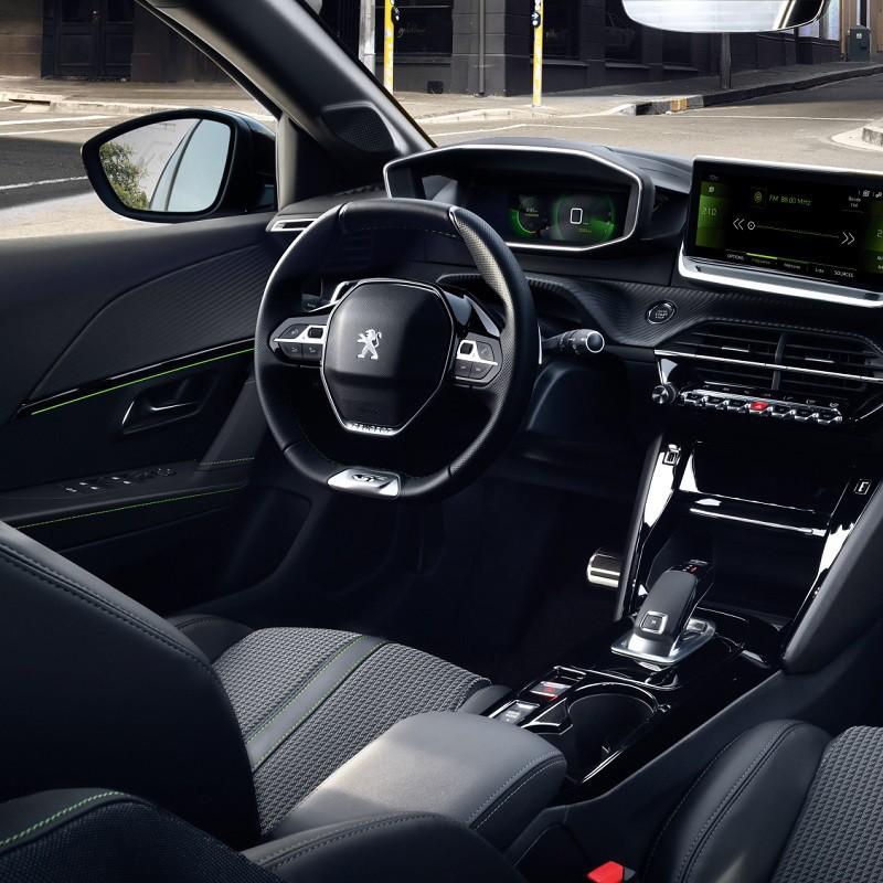 Pédales Sport Peugeot 208 II à boîte automatique