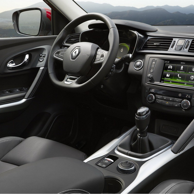 Pédales Sport Renault Kadjar à boîte manuelle