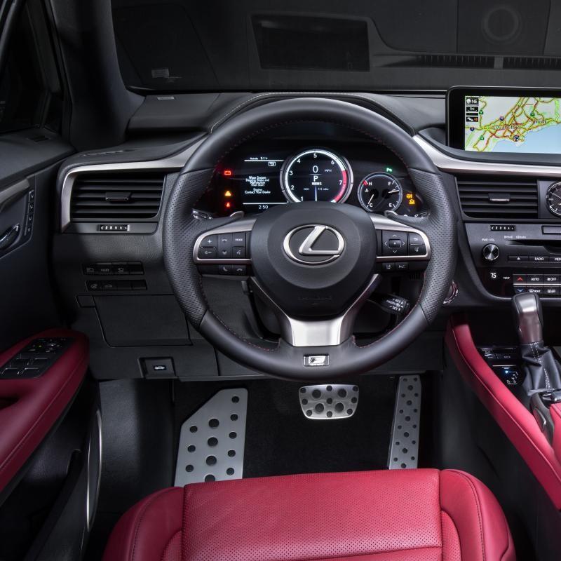 Pédales Sport Lexus RX 4 & RX 4 L (AL20)