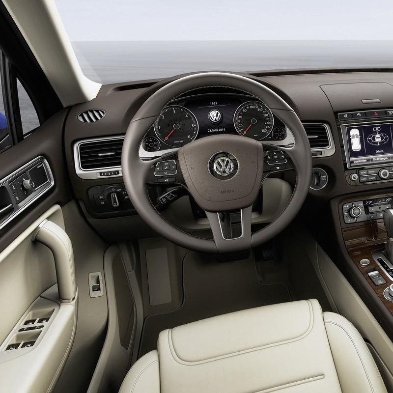 Pédales Sport VW Touareg 2 (7P) à boîte automatique