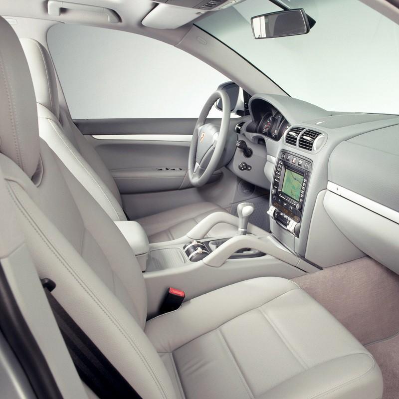 Pédales Sport Porsche Cayenne (955) à boîte automatique