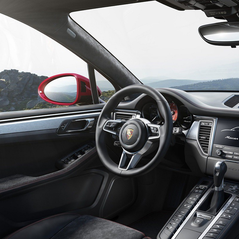 Pédales Sport Porsche Macan (95B) à boîte automatique