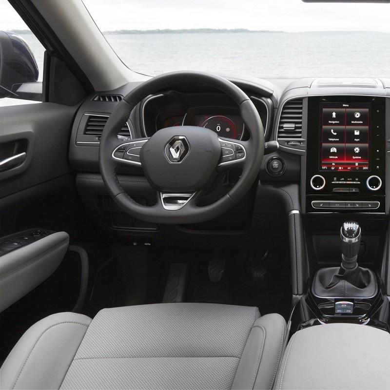 Pédales Sport Renault Koleos 2 à boîte manuelle