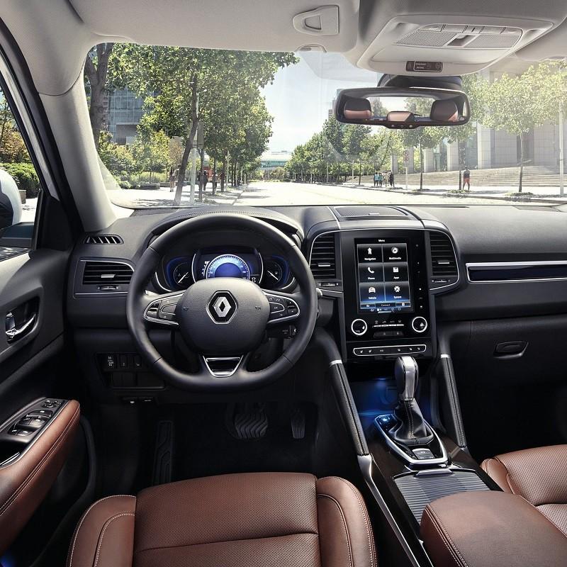 Pédalier Sport Renault Koleos 2 à boîte automatique