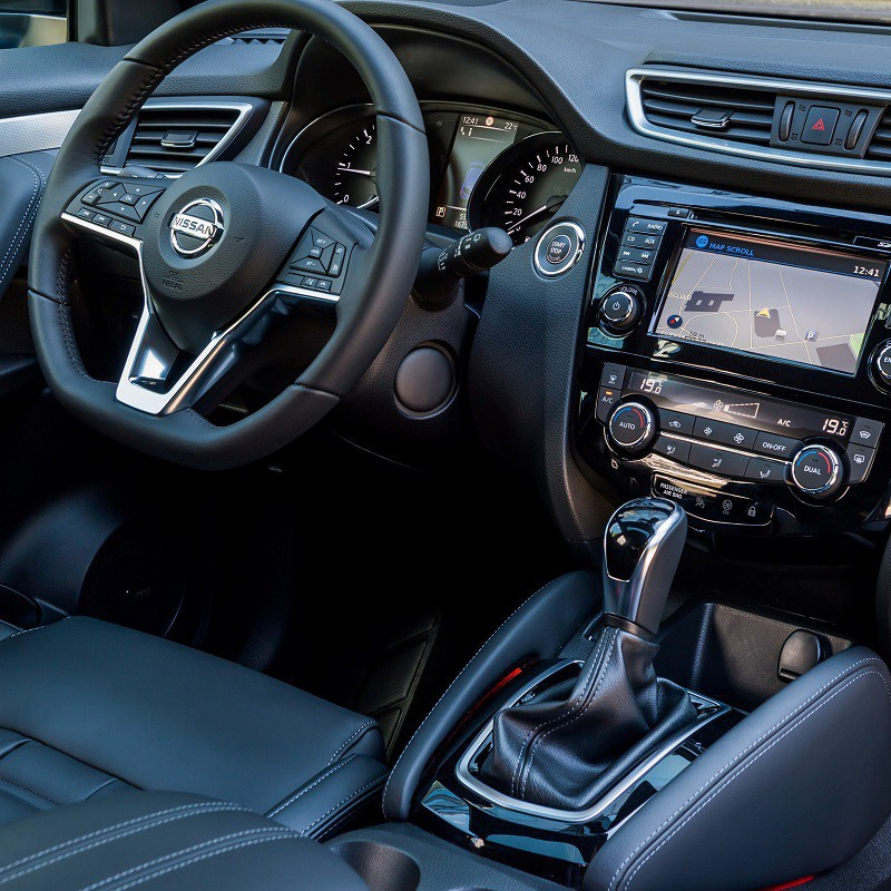 Pédales Sport Nissan Qashqai 2 (J11) à boîte automatique