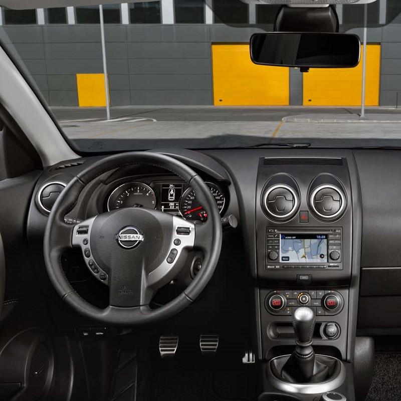Pédales Sport Nissan Qashqai (J10) à boîte manuelle