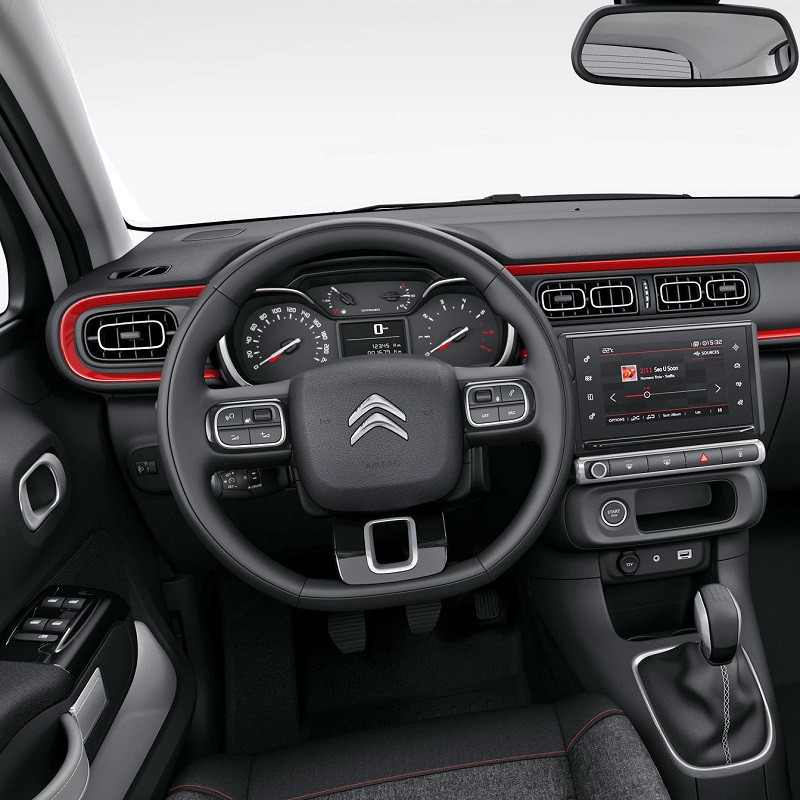 Pédalier Aluminium Sport Citroën C3 III manuelle