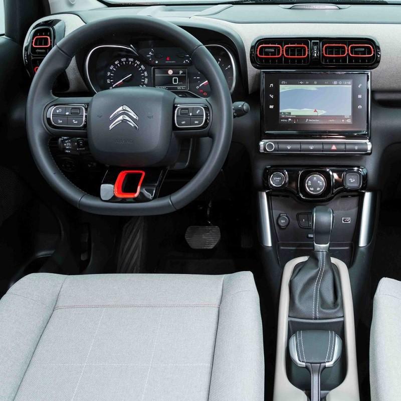 Pédales Sport Aluminium Citroën C3 Aircross à boîte automatique