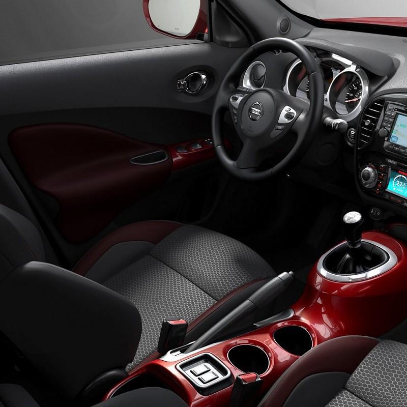 Pédales Aluminium Sport Nissan Juke (F15) à boîte manuelle