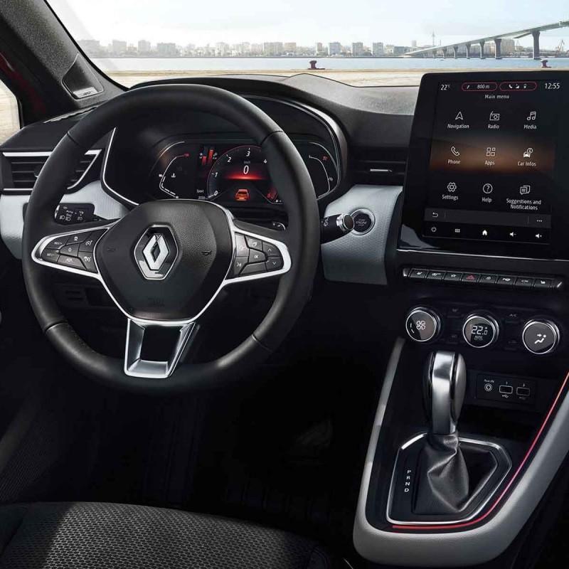 Pédalier Sport Renault Clio V à boîte automatique EDC
