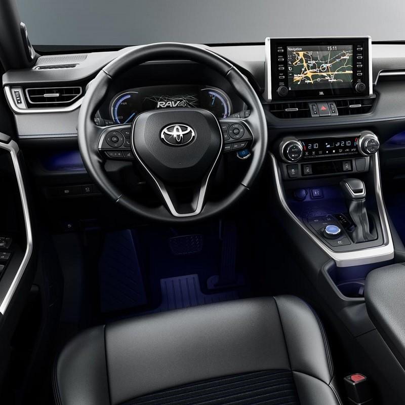 Pédales Sport Toyota RAV4 MK5 Hybride (XA50) à boîte automatique