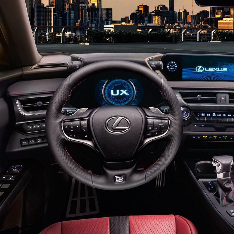Pédalier Sport Lexus UX 250h