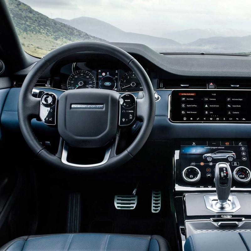Pédalier Sport Range Rover Evoque 2 (L551) à boîte automatique