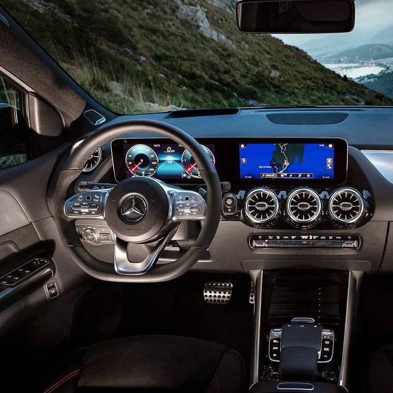 Pédales Sport Mercedes Classe B (W247) à boîte automatique