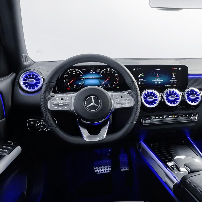 Pédales Sport Mercedes GLB (X247) à boîte automatique