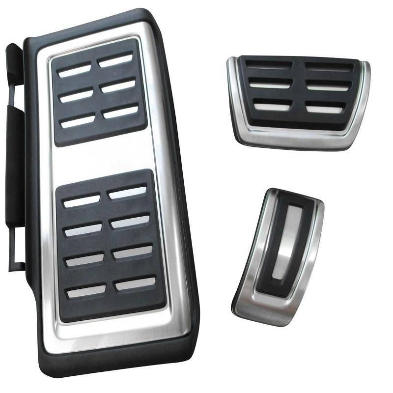 Pack pédalier Alu et Repose-pied VW Tiguan 2 (5P) à boîte automatique