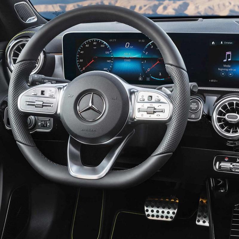Pédales Alu Sport Mercedes-Benz Classe A (W177) à boîte automatique 7/8G-DCT