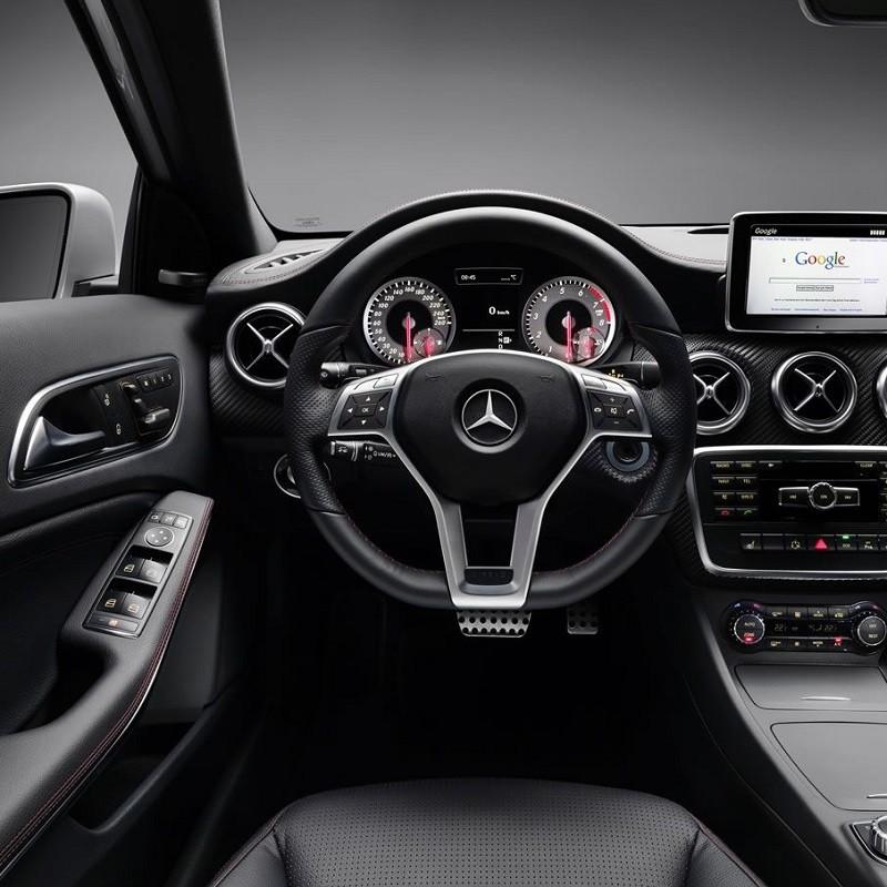 Pédales Sport Mercedes Classe A (W176) à boîte automatique