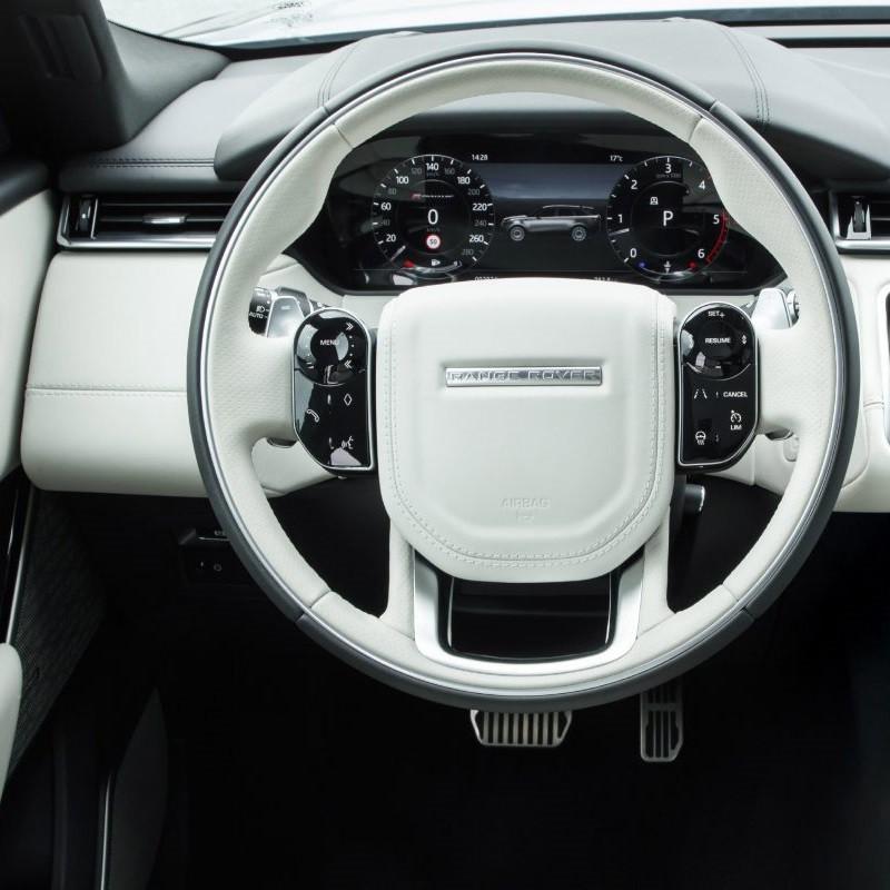 Pédalier Sport Range Rover Velar (L560) à boîte automatique