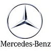 Pédalier alu Mercedes-Benz